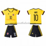 Colombia Elftal Voetbaltenue Kind 2016-17 James Rodriguez 10 Uitshirt..