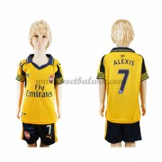 Arsenal Voetbaltenue Kind 2016-17 Alexis 17 Uitshirt..