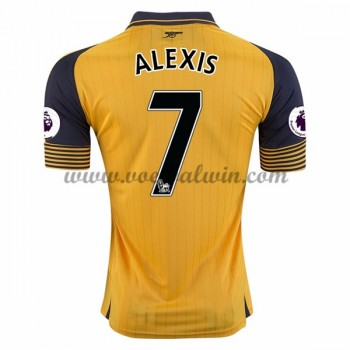 Premier League Voetbalshirts Arsenal 2016-17 Alexis 17 Uitshirt