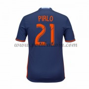 Clubs Voetbalshirts New York City 2016-17 Andrea Pirlo 21 Uitshirt..