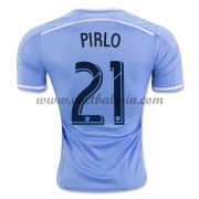 Clubs Voetbalshirts New York City 2016-17 Andrea Pirlo 21 Thuisshirt..