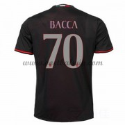 Series A Voetbalshirts AC Milan 2016-17 Bacca 70 Thuisshirt..