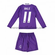 Real Madrid Voetbaltenue Kind 2016-17 Bale 11 Uitshirt Lange Mouw..
