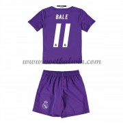 Real Madrid Voetbaltenue Kind 2016-17 Bale 11 Uitshirt..