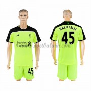 Premier League Voetbalshirts Liverpool 2016-17 Balotelli 45 Third Shirt..