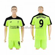 Premier League Voetbalshirts Liverpool 2016-17 Benteke 9 Third Shirt..