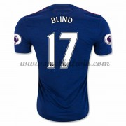 Premier League Voetbalshirts Manchester United 2016-17 Blind 17 Uitshirt..