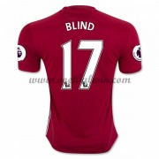 Premier League Voetbalshirts Manchester United 2016-17 Blind 17 Thuisshirt..