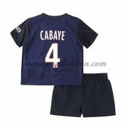 Paris Saint Germain PSG Voetbaltenue Kind 2016-17 Cabaye 4 Thuisshirt..