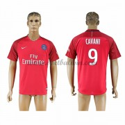Ligue 1 Voetbalshirts Paris Saint Germain Psg 2016-17 Cavani 9 Uitshirt..