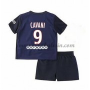 Paris Saint Germain PSG Voetbaltenue Kind 2016-17 Cavani 9 Thuisshirt..