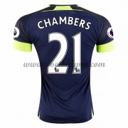 Premier League Voetbalshirts Arsenal 2016-17 Chambers 21 Third Shirt..