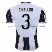 Series A Voetbalshirts Juventus 2016-17 Chiellini 3 Thuisshirt..