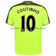 Premier League Voetbalshirts Liverpool 2016-17 Coutinho 10 Third Shirt..