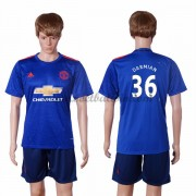 Premier League Voetbalshirts Manchester United 2016-17 Darmian 36 Uitshirt..