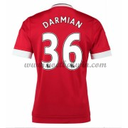Premier League Voetbalshirts Manchester United 2016-17 Darmian 36 Thuisshirt..