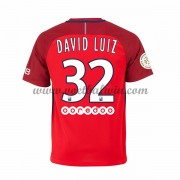 Ligue 1 Voetbalshirts Paris Saint Germain Psg 2016-17 David Luiz 32 Uitshirt..