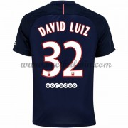 Ligue 1 Voetbalshirts Paris Saint Germain Psg 2016-17 David Luiz 32 Thuisshirt..