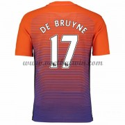 Premier League Voetbalshirts Manchester City 2016-17 De Bruyne 17 Third Shirt..