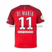 Ligue 1 Voetbalshirts Paris Saint Germain PSG 2016-17 Di Maria 11 Uitshirt..