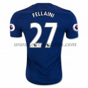 Premier League Voetbalshirts Manchester United 2016-17 Fellaini 27 Uitshirt..