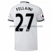 Premier League Voetbalshirts Manchester United 2016-17 Fellaini 27 Third Shirt..