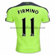 Premier League Voetbalshirts Liverpool 2016-17 Firmino 11 Third Shirt..