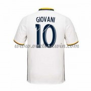 Clubs Voetbalshirts Los Angeles Galaxy 2016-17 Giovani dos Santos 10 Thuisshirt..