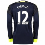 Premier League Voetbalshirts Arsenal 2016-17 Giroud 12 Third Shirt Lange Mouw..