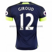 Premier League Voetbalshirts Arsenal 2016-17 Giroud 12 Third Shirt..