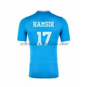 Series A Voetbalshirts SSC Napoli 2016-17 Hamsik 17 Thuisshirt..