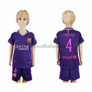 Barcelona Voetbaltenue Kind 2016-17 I. Rakitic 4 Uitshirt..