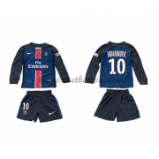 Paris Saint Germain PSG Voetbaltenue Kind 2016-17 Ibrahimovic 10 Thuisshirt Lange Mouw..