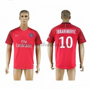 Ligue 1 Voetbalshirts Paris Saint Germain Psg 2016-17 Ibrahimovic 10 Uitshirt..
