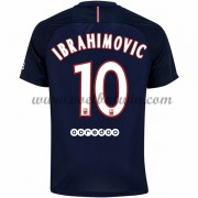 Ligue 1 Voetbalshirts Paris Saint Germain Psg 2016-17 Ibrahimovic 10 Thuisshirt..