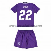 Real Madrid Voetbaltenue Kind 2016-17 Isco 22 Uitshirt..