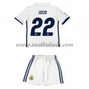 Real Madrid Voetbaltenue Kind 2016-17 Isco 22 Thuisshirt..
