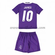 Real Madrid Voetbaltenue Kind 2016-17 James 10 Uitshirt..