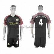 Premier League Voetbalshirts Manchester City 2016-17 Kompany 4 Uitshirt..