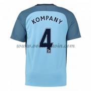 Premier League Voetbalshirts Manchester City 2016-17 Kompany 4 Thuisshirt..