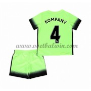 Manchester City Voetbaltenue Kind 2016-17 Kompany 4 Third Shirt..