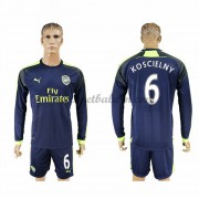 Premier League Voetbalshirts Arsenal 2016-17 Koscielny 6 Third Shirt Lange Mouw..