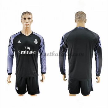 La Liga Voetbalshirts Real Madrid 2016-17 Third Shirt Lange Mouw