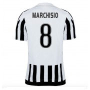 Series A Voetbalshirts Juventus 2016-17 Marchisio 8 Thuisshirt..