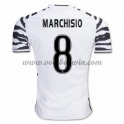 Series A Voetbalshirts Juventus 2016-17 Marchisio 8 Third Shirt..