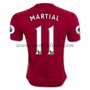 Premier League Voetbalshirts Manchester United 2016-17 Martial 9 Thuisshirt..