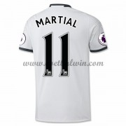 Premier League Voetbalshirts Manchester United 2016-17 Martial 9 Third Shirt..