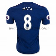 Premier League Voetbalshirts Manchester United 2016-17 Mata 8 Uitshirt..