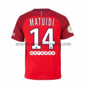 Ligue 1 Voetbalshirts Paris Saint Germain Psg 2016-17 Matuidi 14 Uitshirt..