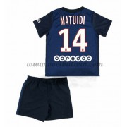 Paris Saint Germain PSG Voetbaltenue Kind 2016-17 Matuidi 14 Thuisshirt..